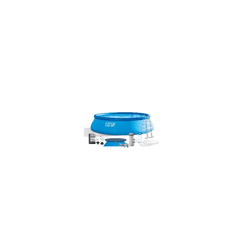 Materac do spania 152 x 203 x 25 cm Classic Downy Queen + pompka + poduszki 64765 Intex Pool Garden Party