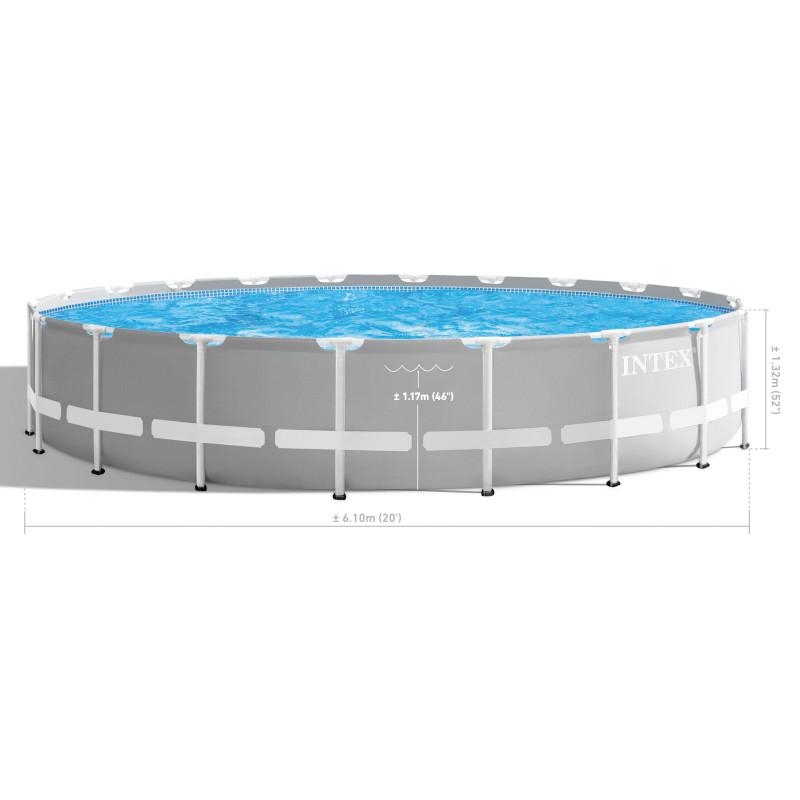 Materac turystyczny dla dzieci 88 x 157 x 18 cm - niebieski 66803 Intex Pool Garden Party