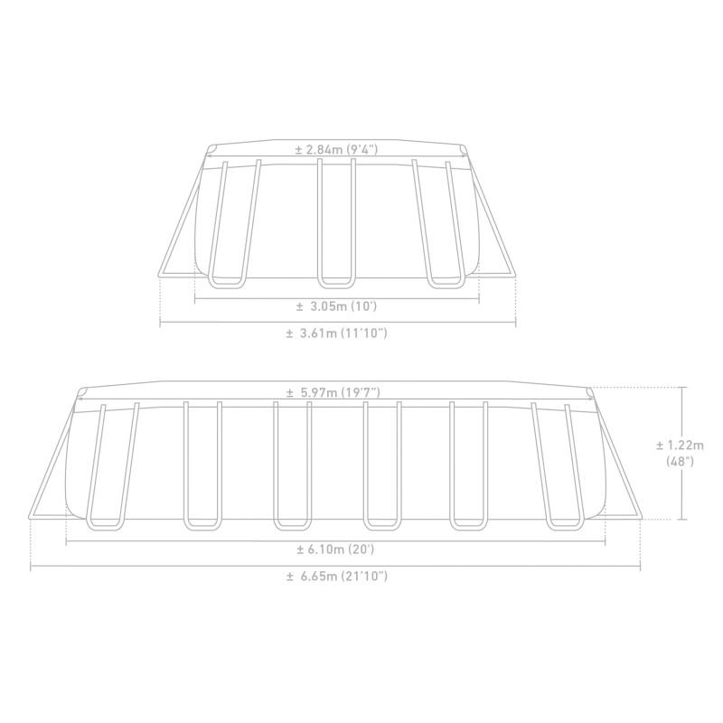 Basen Brodzik - Owocowy Basen z piłką i kółkiem 59460 Intex Pool Garden Party