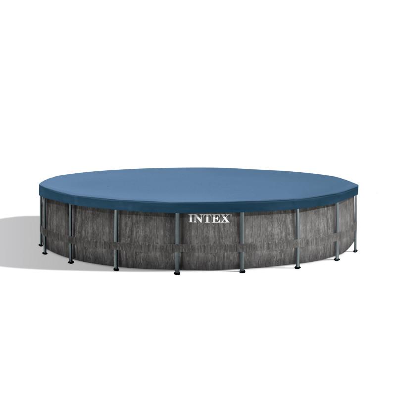 Basen familijny błekitny 262 x 175 x 56 cm 56483 Intex Pool Garden Party