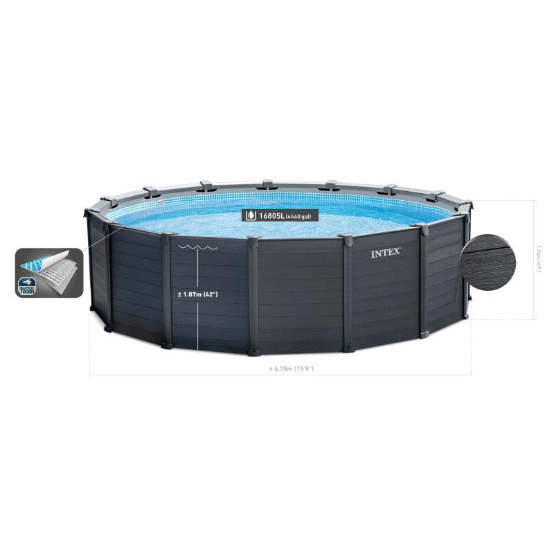 Maska dziecięca do nurkowania Krab 55915 Intex Pool Garden Party