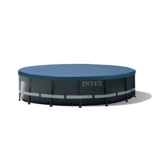 Maska do nurkowania Sea Scan - niebieska Intex