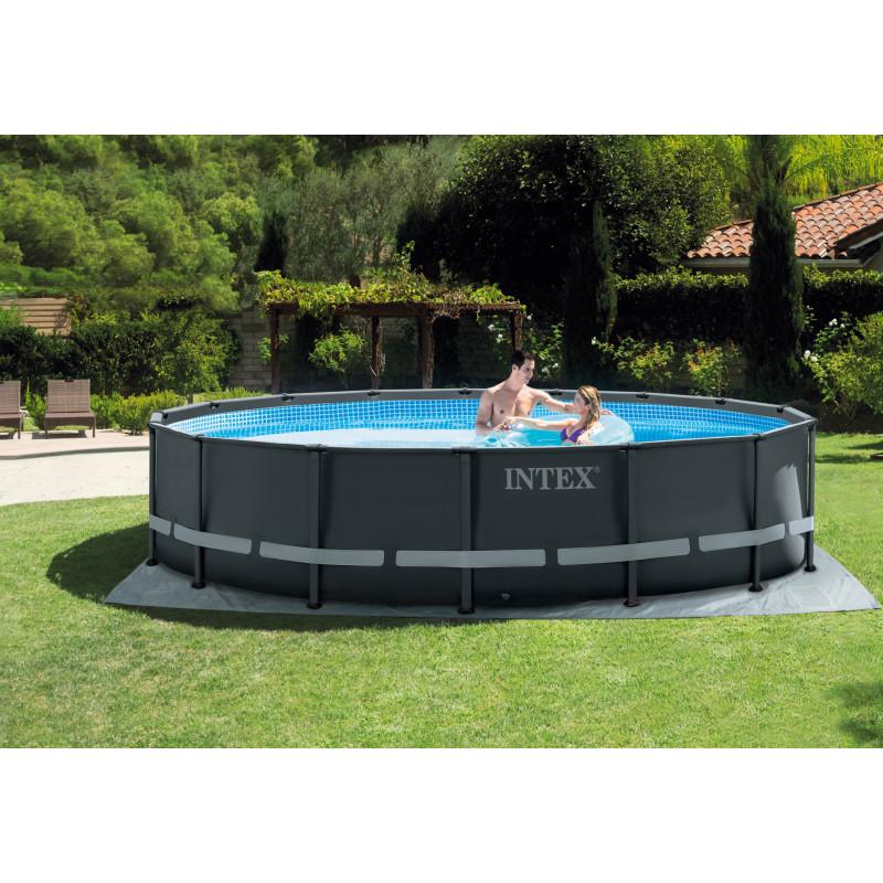 Maska do nurkowania Wave Rider - różowa 55978 Intex Pool Garden Party