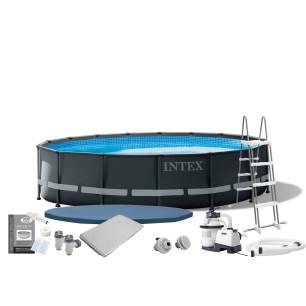 Maska do nurkowania Wave Rider - żółta Intex