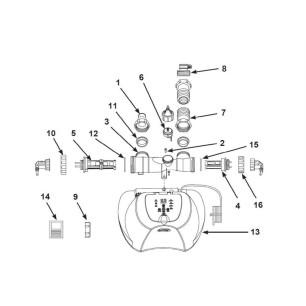 Materac Hot Dog 58771 Intex Pool Garden Party
