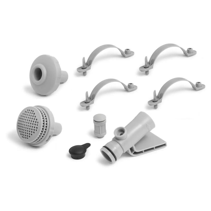 Pokrywa basenowa 305 cm do basenów Metal Frame 28030 Intex Pool Garden Party