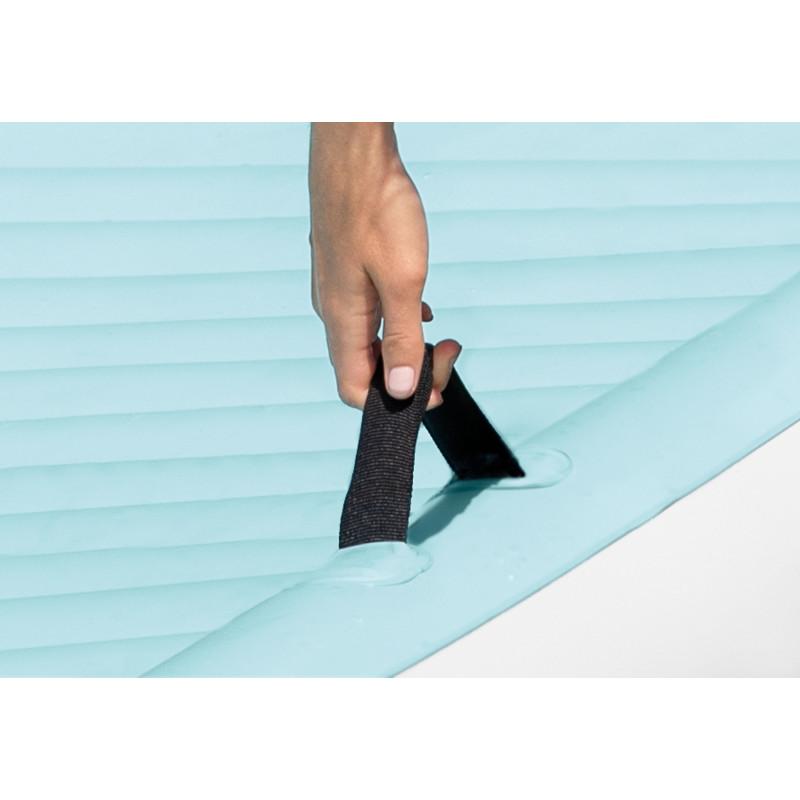 Basen kwadratowy akwarium z daszkiem 57470 Intex Pool Garden Party
