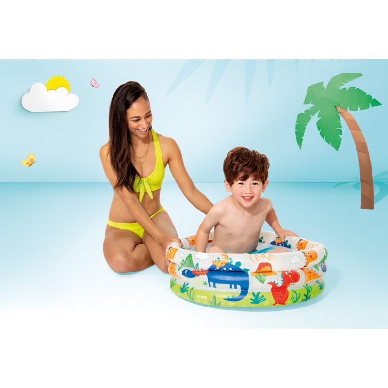 Kółko do pływania Mój przyjaciel Jednorożec 58221 Intex Pool Garden Party