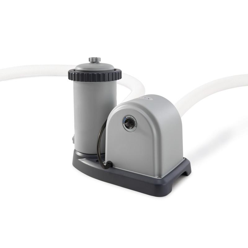 Okularki pływackie  dla dzieci Junior - zielone 55601 Intex Pool Garden Party