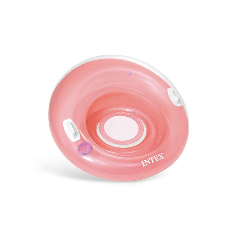 Materac z napisami  - motyw kwiaty 58772 Intex Pool Garden Party