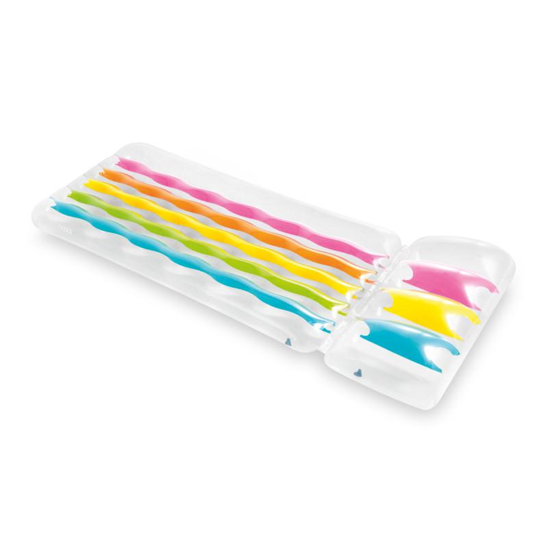 Fotel Pufa Dmuchana Empire - Niebieska 66582 Intex Pool Garden Party