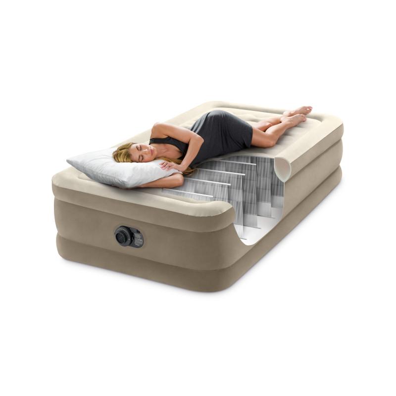 Płetwy regulowane (41-45) czarne 55635 Intex Pool Garden Party