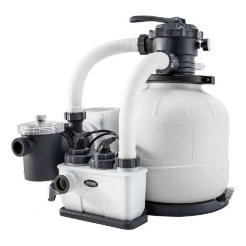 12456A Intex Niecka basenowa do basenu Prism Frame Pools 457 x 107 cm Pool Garden Party