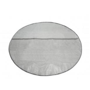 Koło do pływania przezroczyste 76 cm - niebieskie Intex