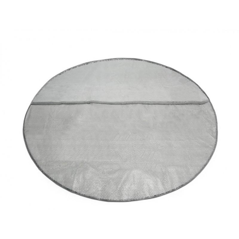 Koło do pływania przezroczyste 76 cm - niebieskie 59260 Intex Pool Garden Party