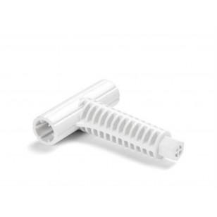 Koło do pływania przezroczyste 76 cm - różowe Intex