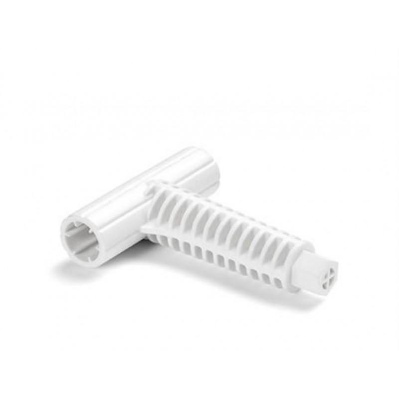 Koło do pływania przezroczyste 76 cm - różowe 59260 Intex Pool Garden Party