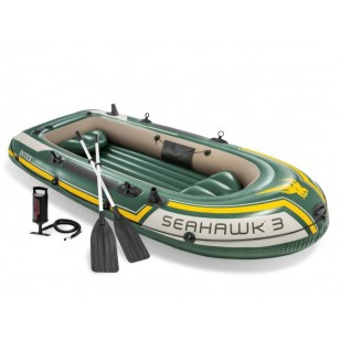 Koło do pływania przezroczyste 76 cm - żółte Intex