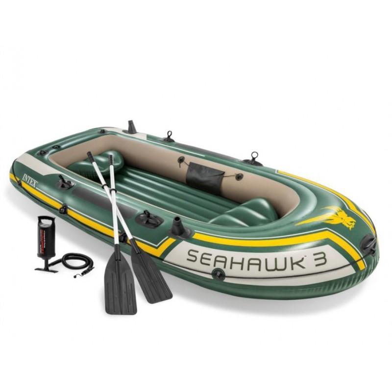 Koło do pływania przezroczyste 76 cm - żółte 59260 Intex Pool Garden Party