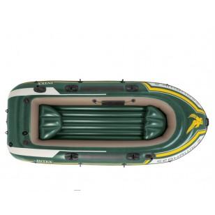 Koło do pływania Neon 91 cm - pomarańczowe Intex